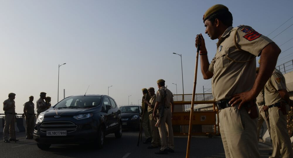 Polícia indiana. (Arquivo)