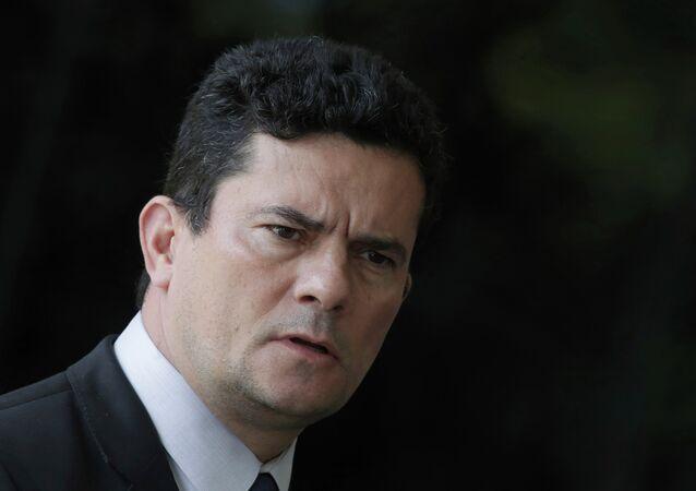 O ministro da Justiça e Segurança Pública Sergio Moro.