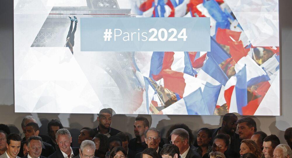 Lançamento da candidatura de Paris aos Jogos Olímpicos e Paraolímpicos de 2024.