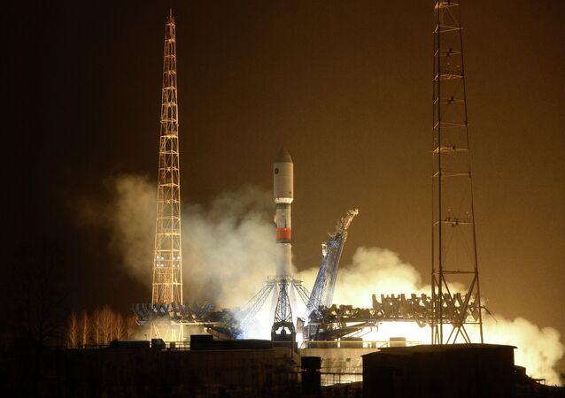 Lançamento do foguete portador Soyuz-2.1b