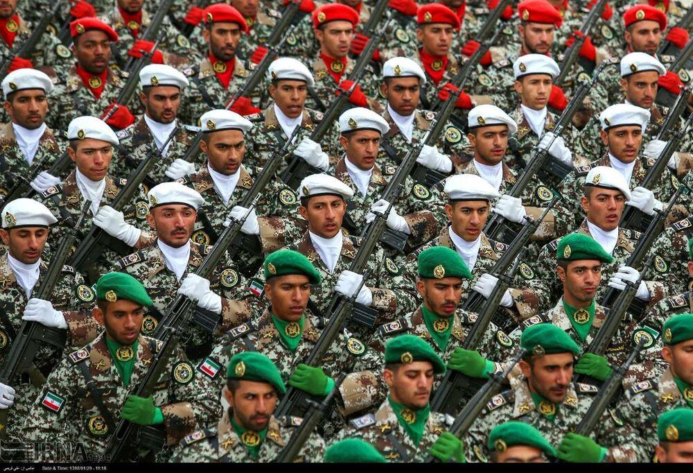 Guardiões da Revolução Islâmica dispõem de diferentes tipos de unidades militares
