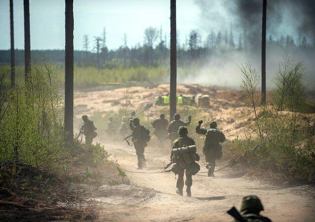 Exercícios militares da OTAN (imagen referencial)