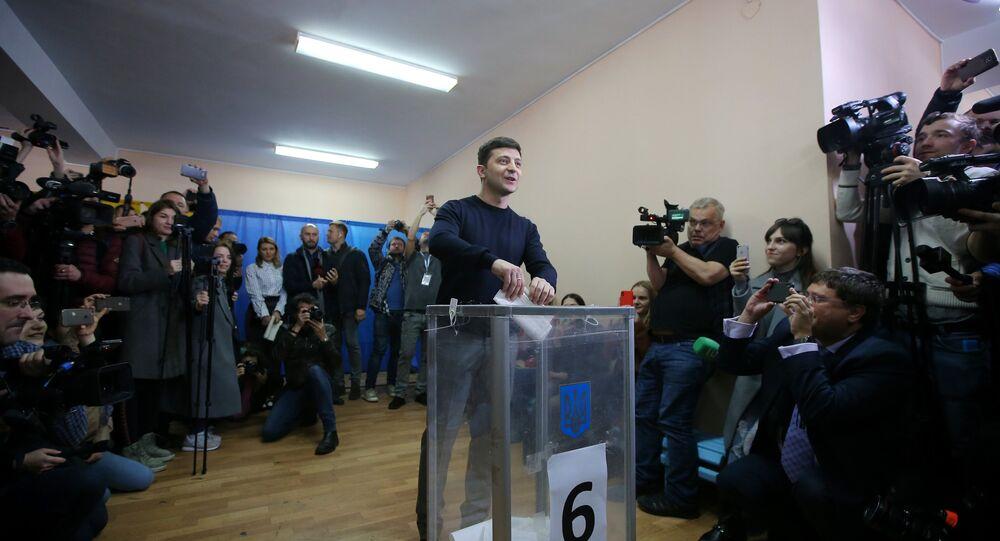 Zelensky é o novo presidente da Ucrânia