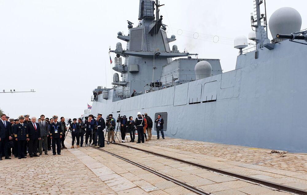 O navio principal deste grupo é a fragata russa Admiral Gorshkov do projeto 22350
