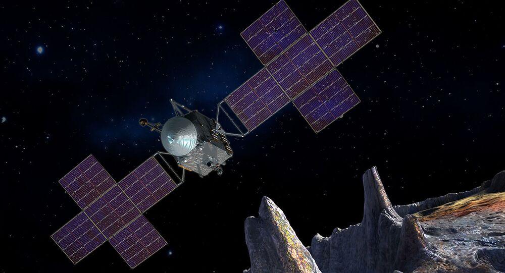 Imagem artística da sonda