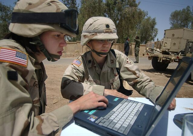 Soldados norte-americanos na Iraque