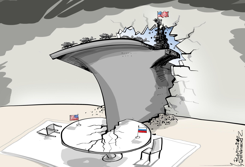 Construindo diplomacia com porta-aviões