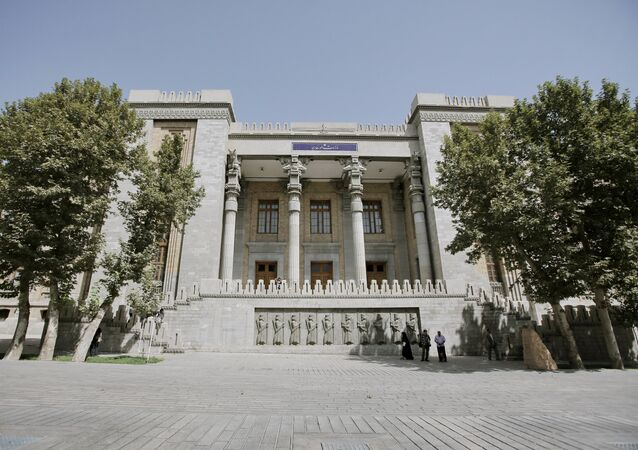 Prédio do Ministério das Relações Exteriores do Irã, em Teerã