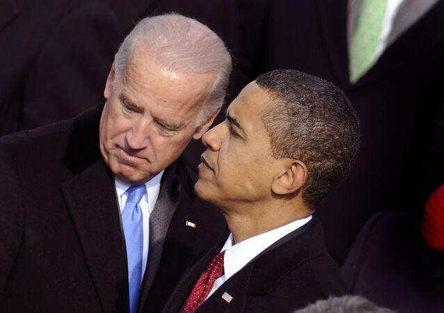 Barack Obama e Joe Biden em foto de arquivo.