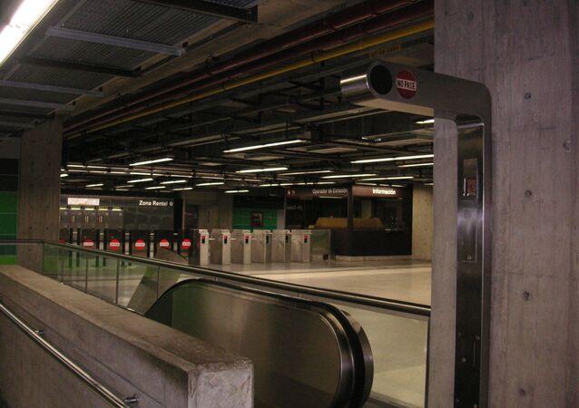 Metro em Caracas
