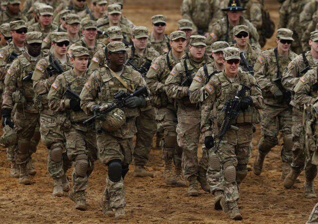 Soldados estadounidenses en Lituania