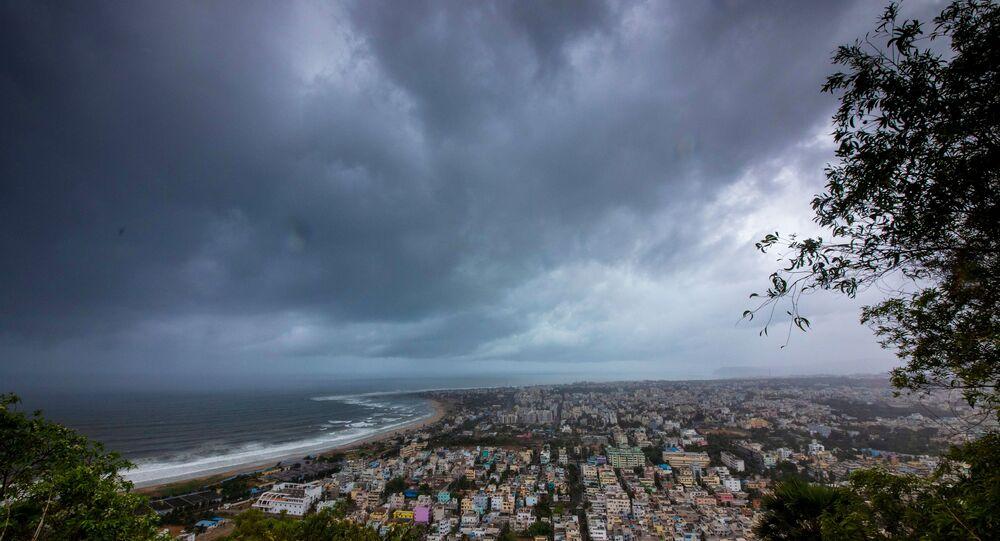 Ciclone Fani na Índia