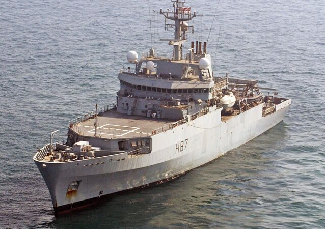 Navio hidrográfico da Marinha britânica HMS Echo