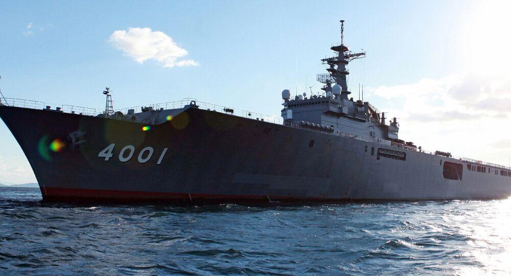 Navio de assalto anfíbio japonês da classe Osumi