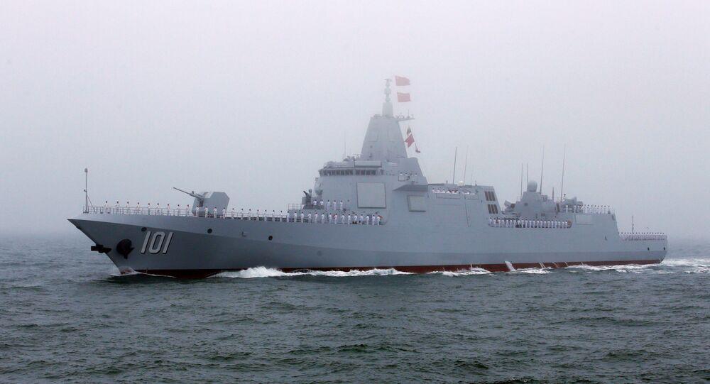 Destróier chinês Type 055