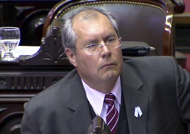 Héctor Olivares, deputado argentino