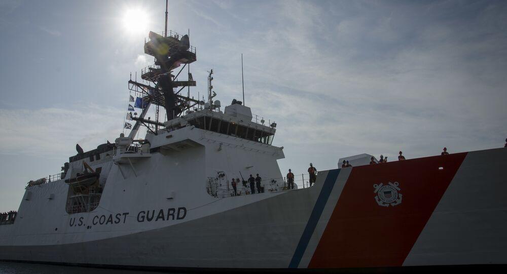 Navio da Guarda Costeira dos EUA USCGC James