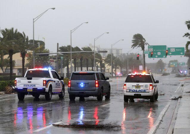 Polícia de Sunny Isles Beach, na Flórida (arquivo).