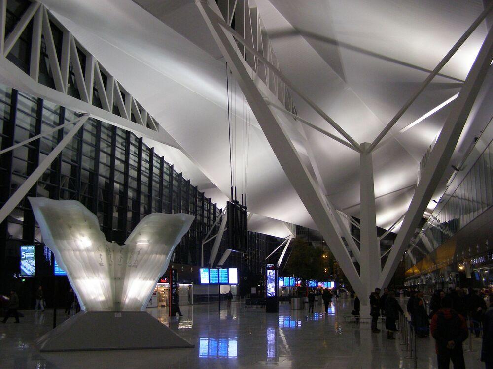 Aeroporto Internacional de Gdansk-Lech Walesa, na Polônia