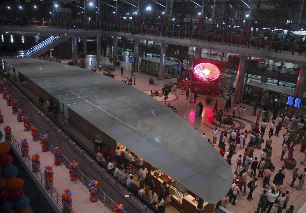Aeroporto Internacional Rajiv Gandhi na Índia