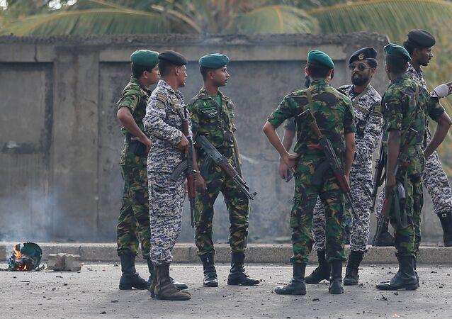 Militares de Sri Lanka (imagem referencial)