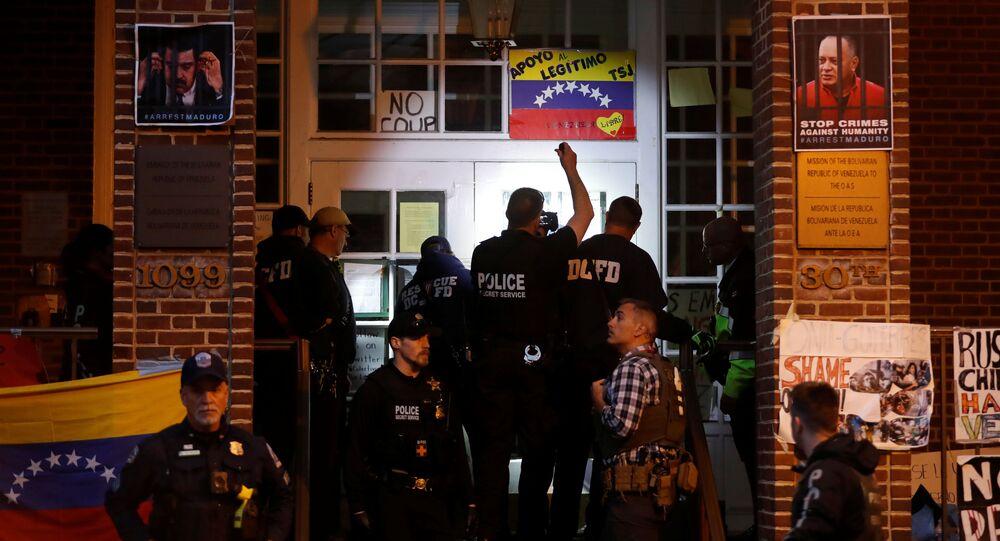 Embaixada da Venezuelana em Washington