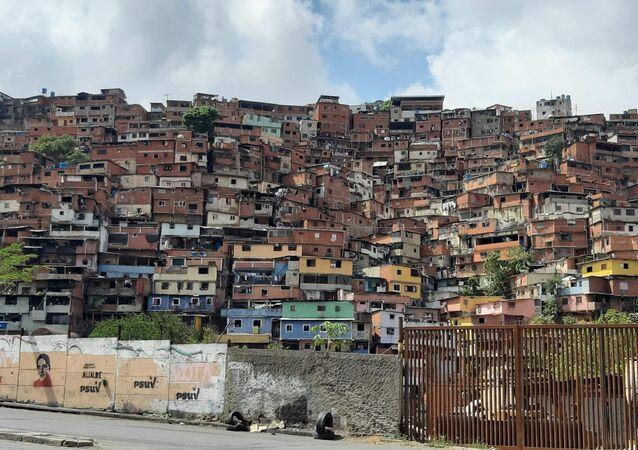 Casas em Caracas, capital da Venezuela (arquivo)