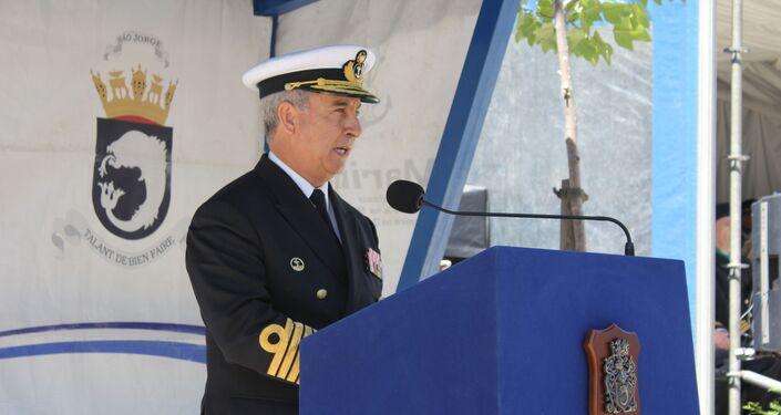 Chefe do Estado-Maior da Marinha portuguesa António Mendes Calado