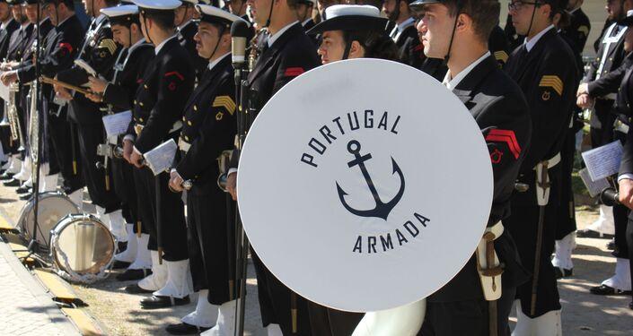 Banda da Armada se apresenta em prol do Dia da Marinha portuguesa