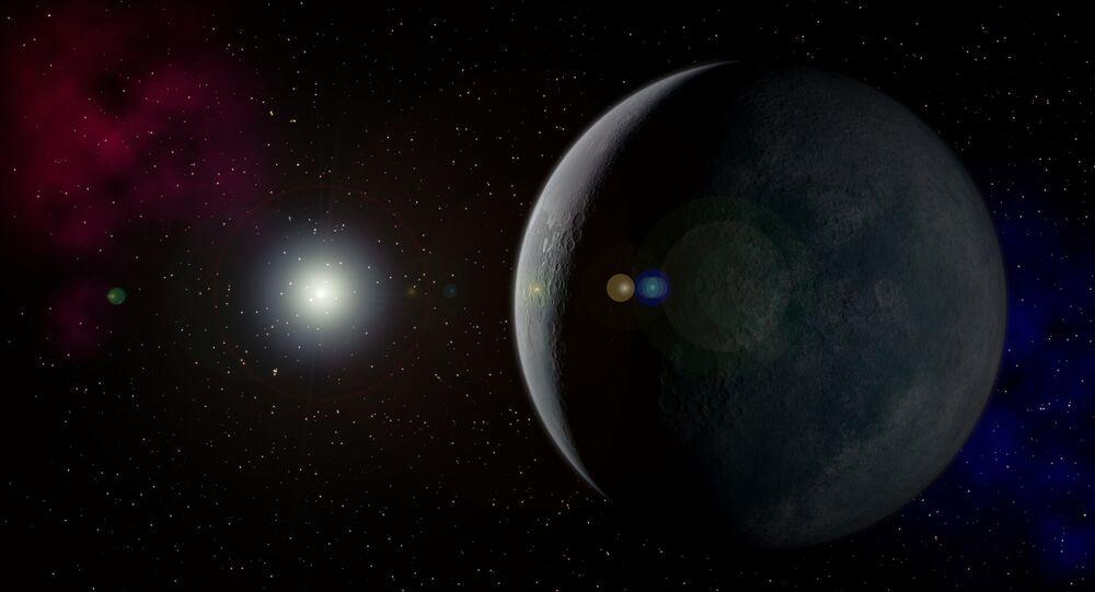 Planeta Nove hipotético (imagem ilustrativa)
