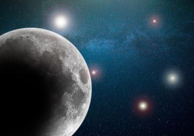 A Lua, satélite natural da Terra