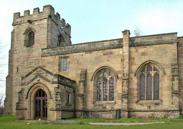 Igreja Santa Helena em Etwall, Inglaterra