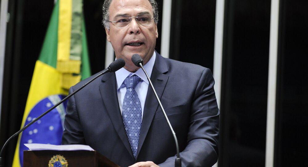 O líder do governo do Senado, Fernando Bezerra (PSB-PE)