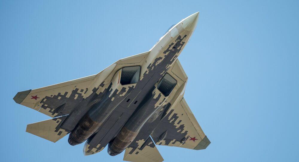 Caça russo de quinta geração Su-57