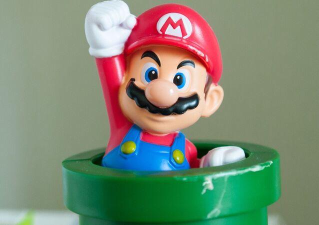 Mario Bros, famoso personagem da Nintendo.