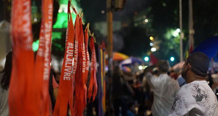 Manifestação contra cortes do governo no Rio de Janeiro
