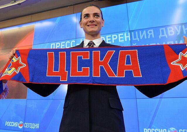 Yelena Isinbayeva volta ao esporte