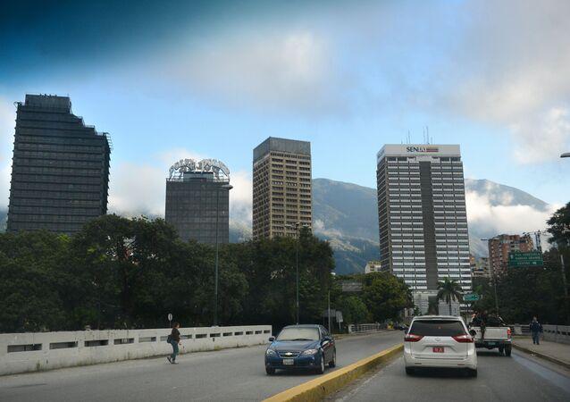 Caracas, a capital de Venezuela