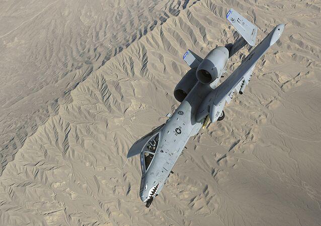 A-10 Thunderbolt II (imagem referencial)