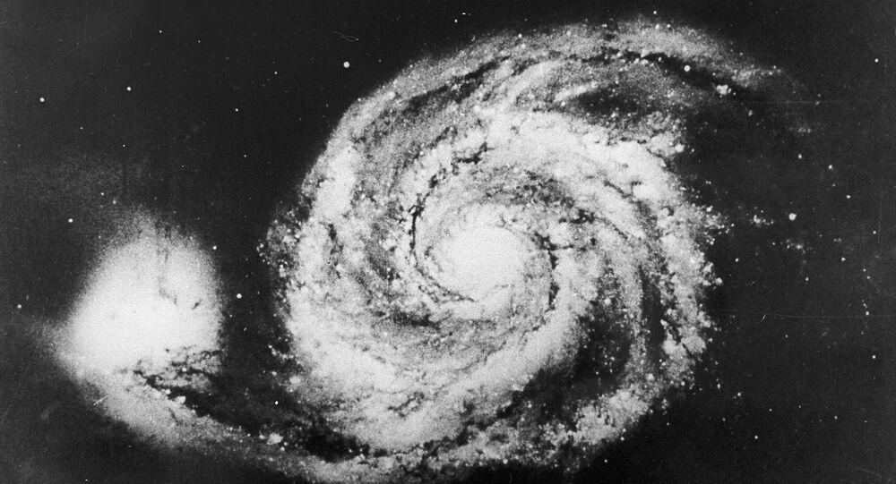 Galáxia (imagem referencial)