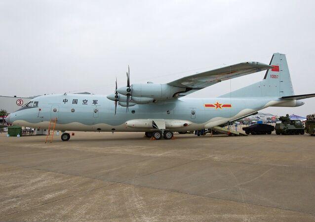 Avião espião chinês  Shaanxi Y-9