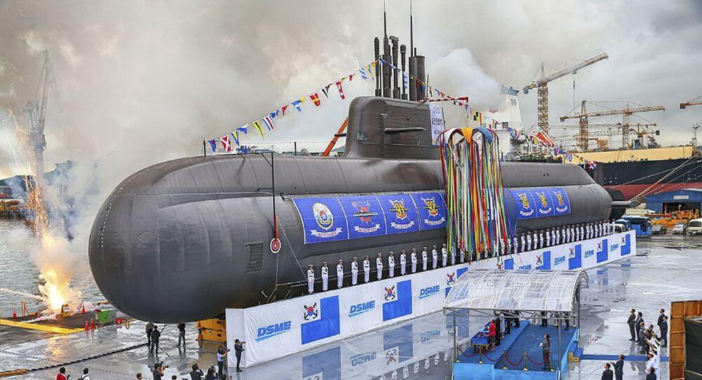 Submarino Dosan An Chang-Ho KSS III