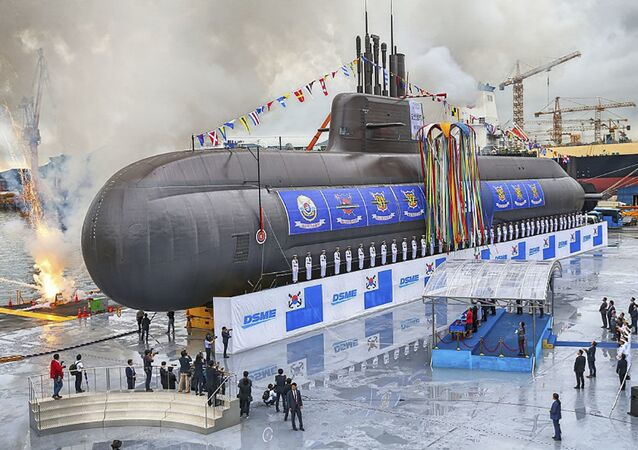 Submarino Dosan An Chang-Ho KSS III