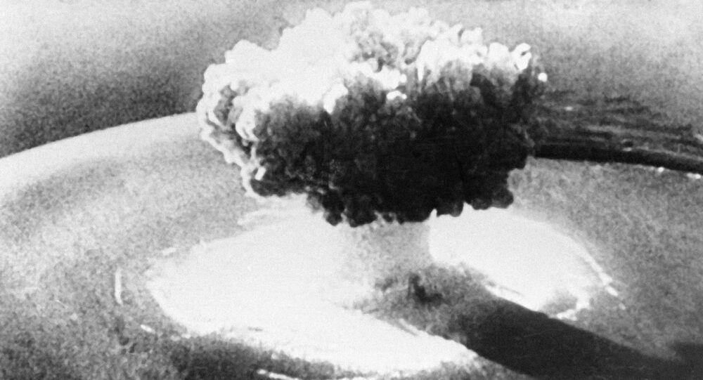 Explosão nuclear (imagem de arquivo)