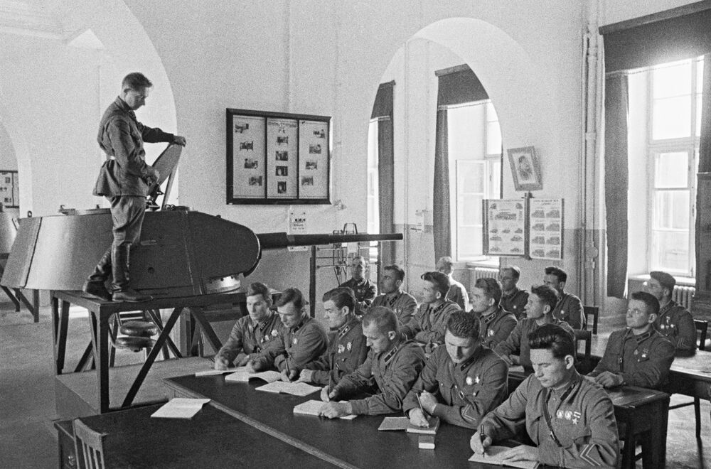 Graduados da Academia Militar Stalin