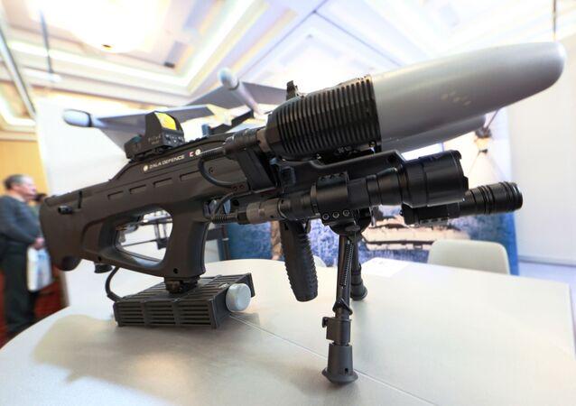 Arma radioeletrônica contra drones REX