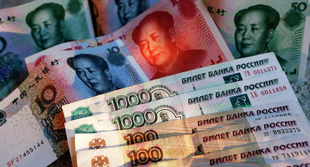 Rublo e yuan