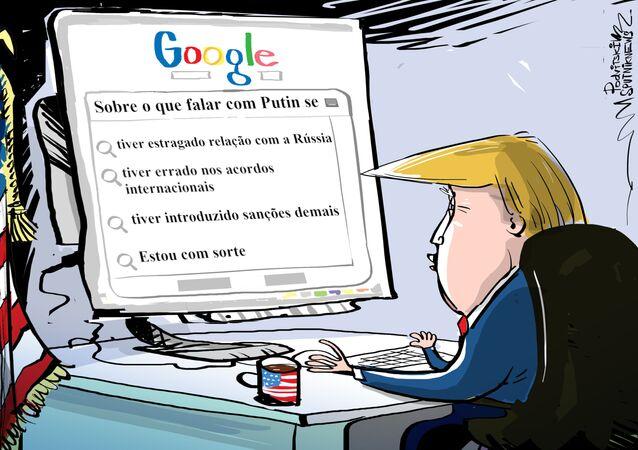 Reunião com Putin? Melhor perguntar ao Google