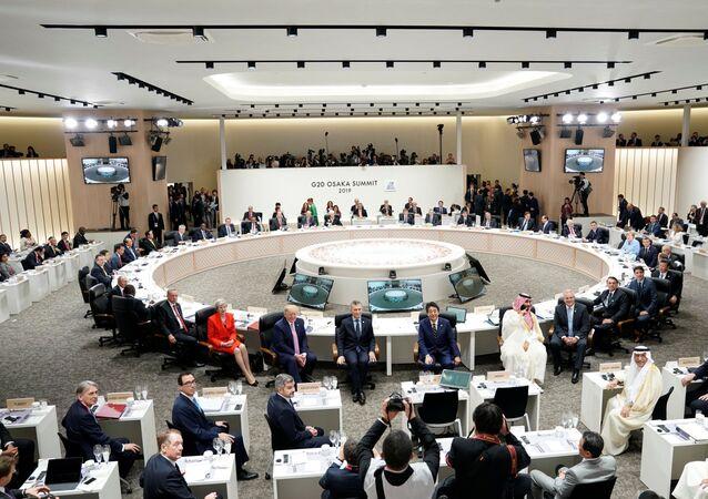 Cúpula do G20 em Osaka, Japão