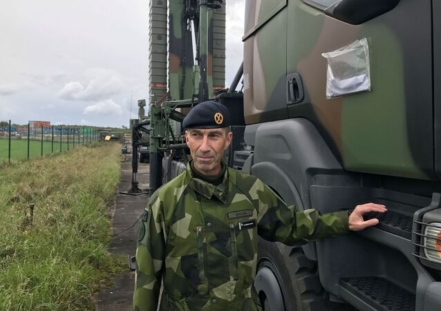 Micael Byden, comandante das Forças Armadas suecas